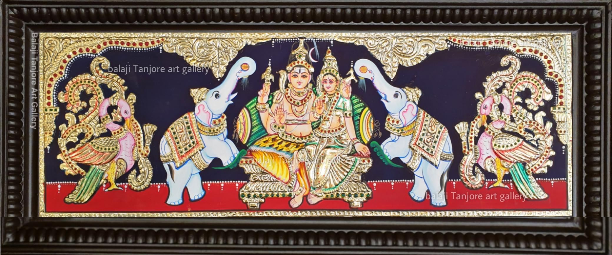 pooja set tanjore painting