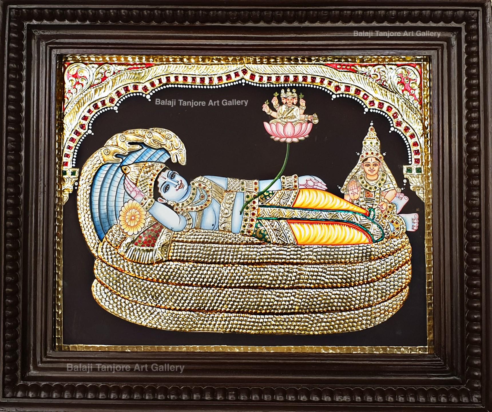 ranganathar tanjore painting
