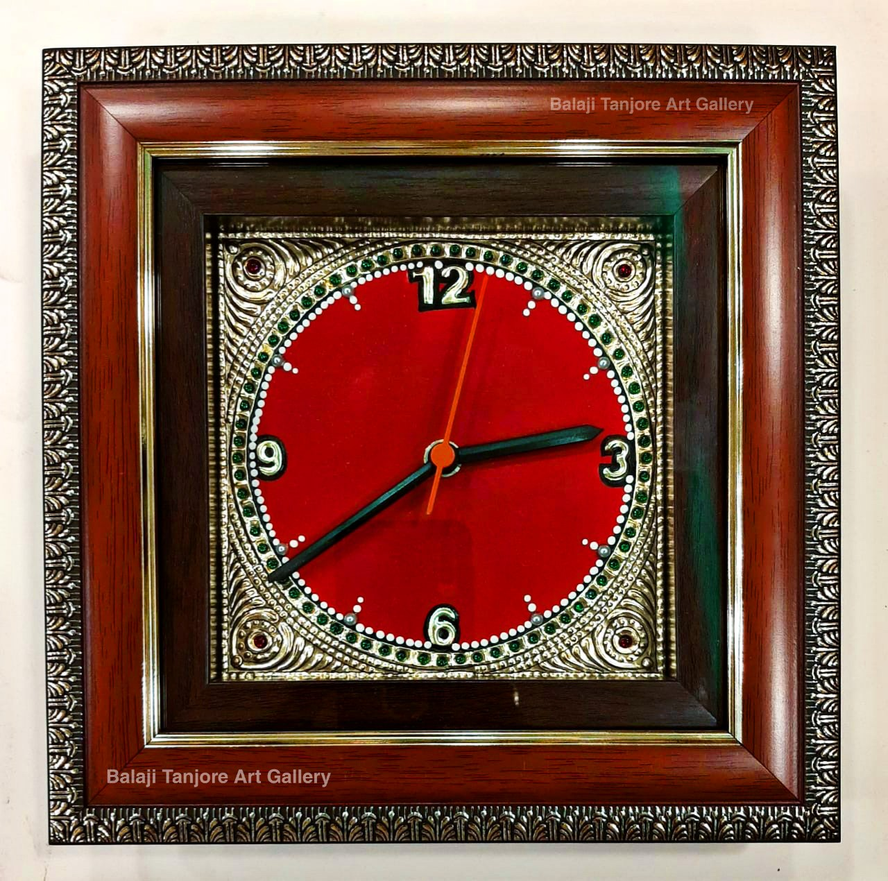 tanjore clock