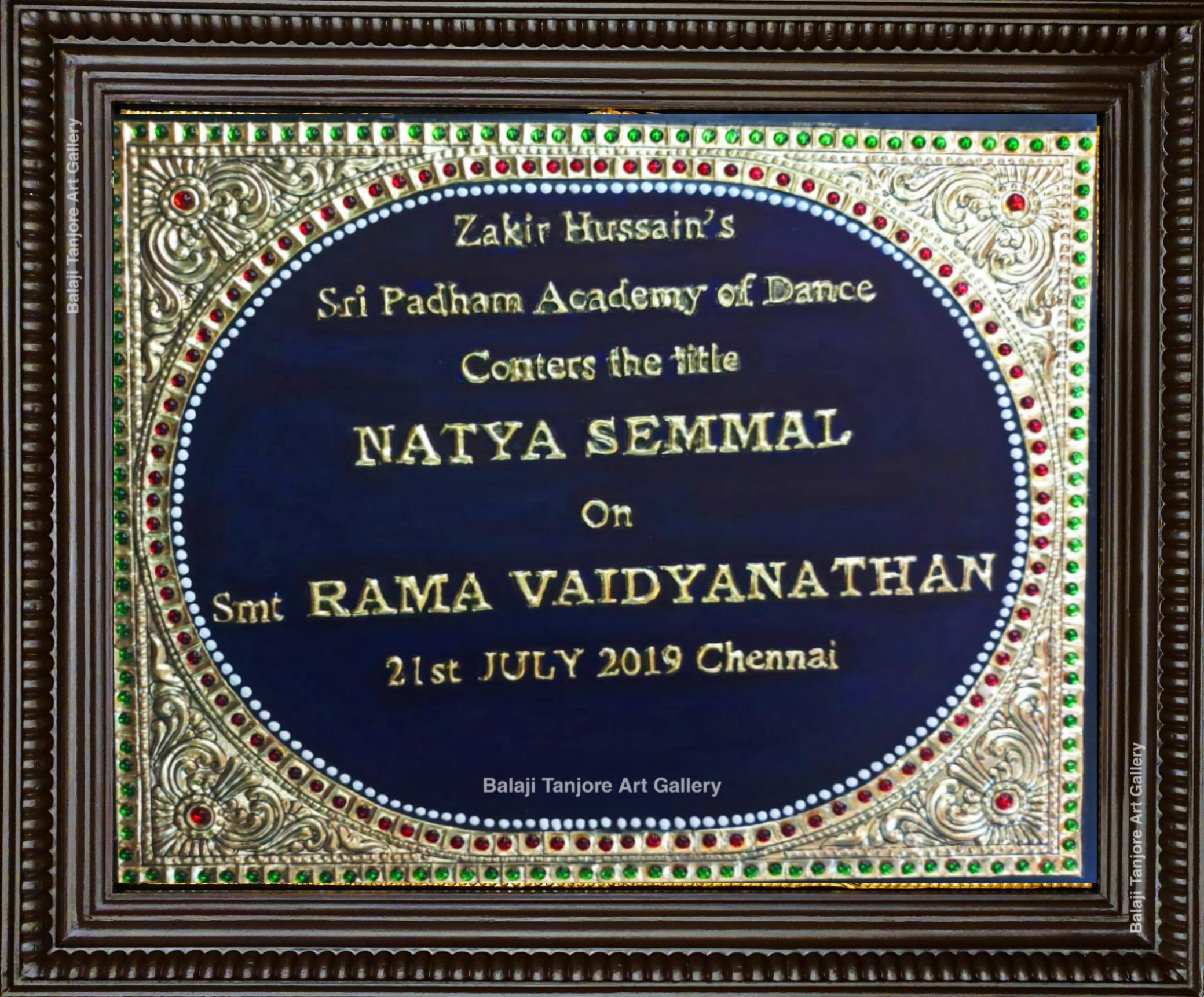 customizable tanjore sign paintings