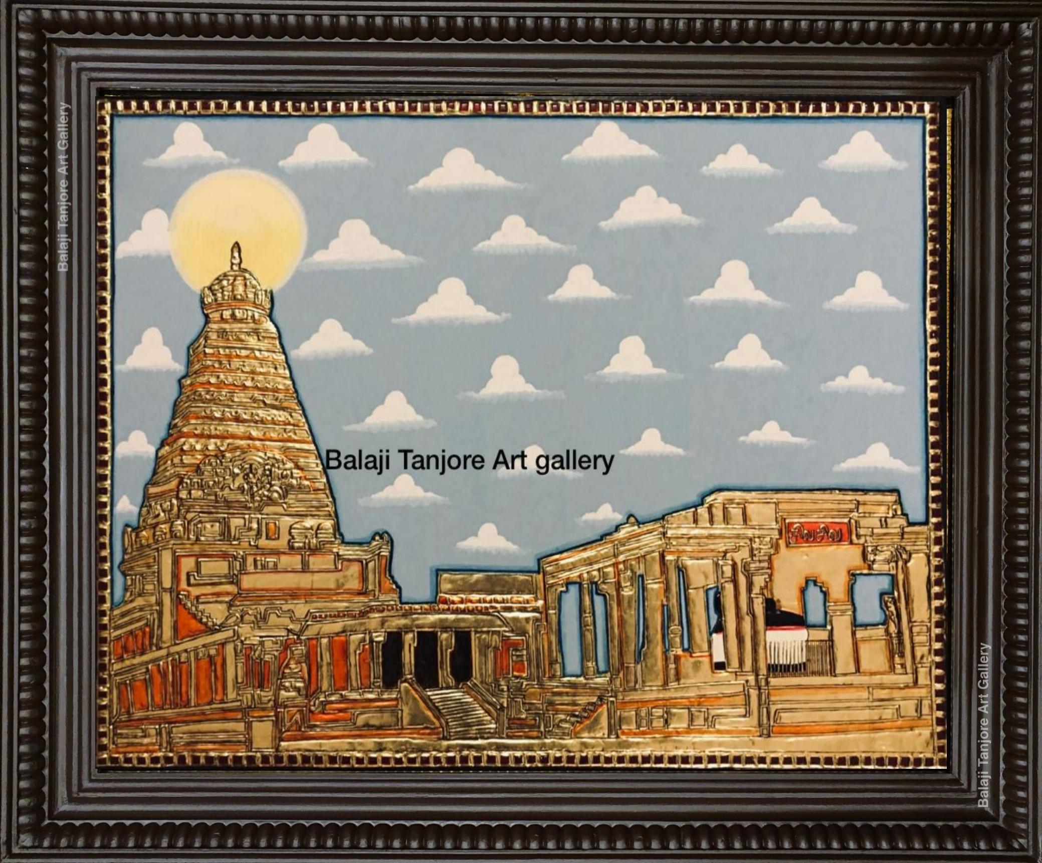 Brihadeeswara Temple tanjore painting