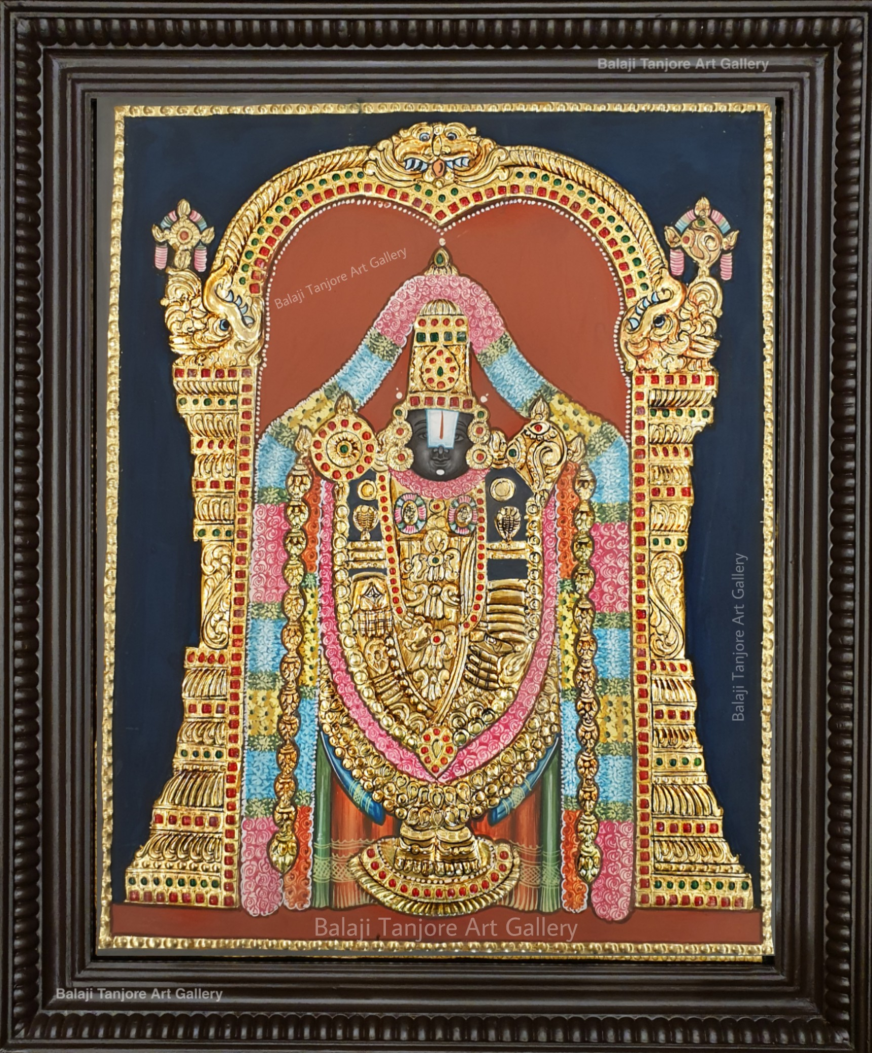 balaji antique style tanjore painting