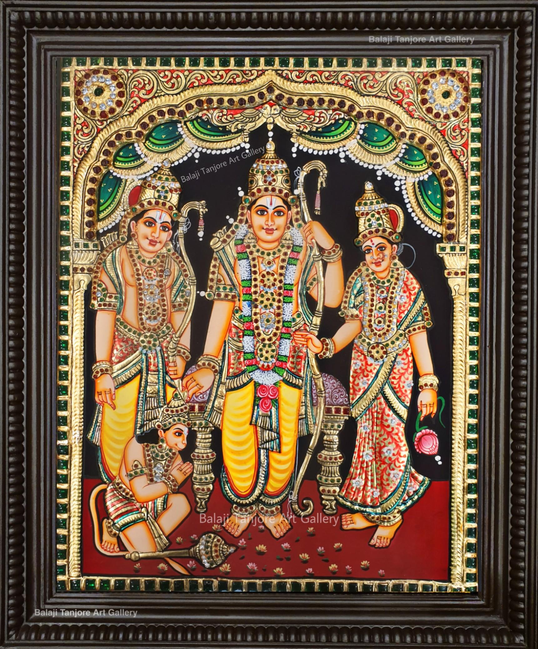 narasimha antique tanjore painting