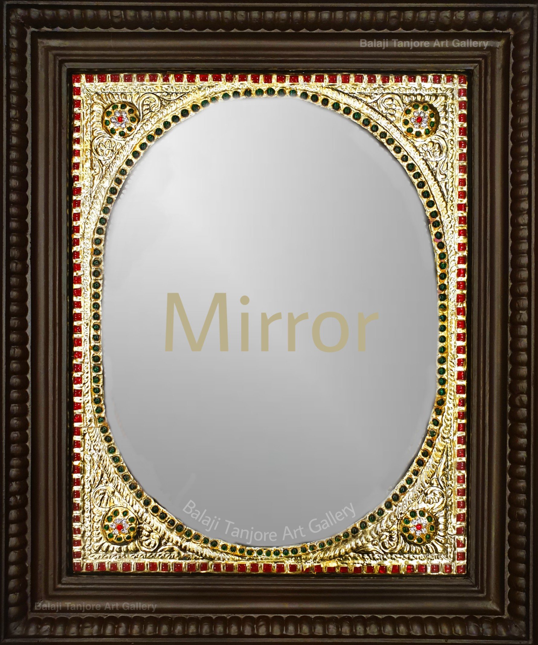 mirror tanjore painting