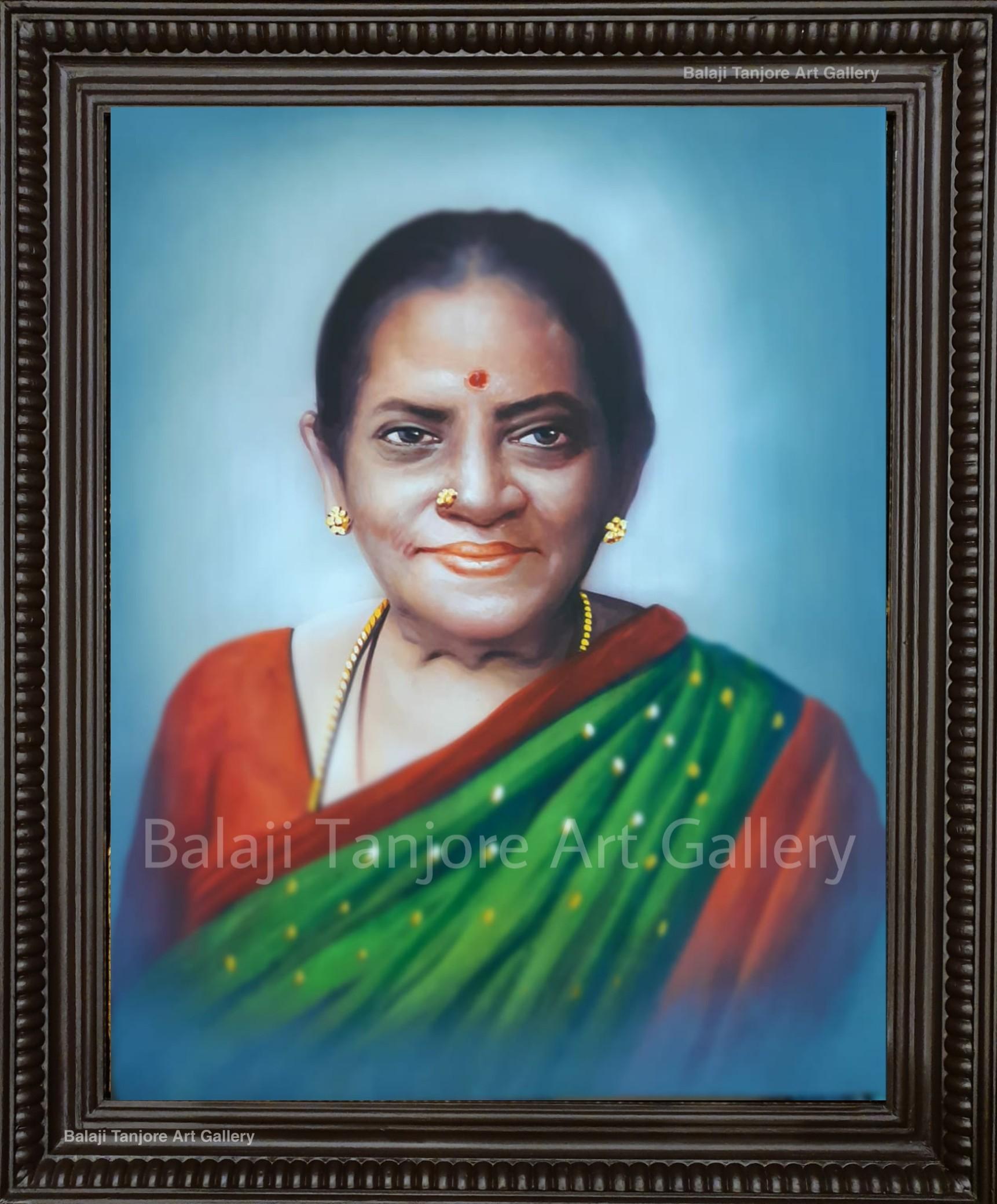 customizale portrait hand drawn paintings
