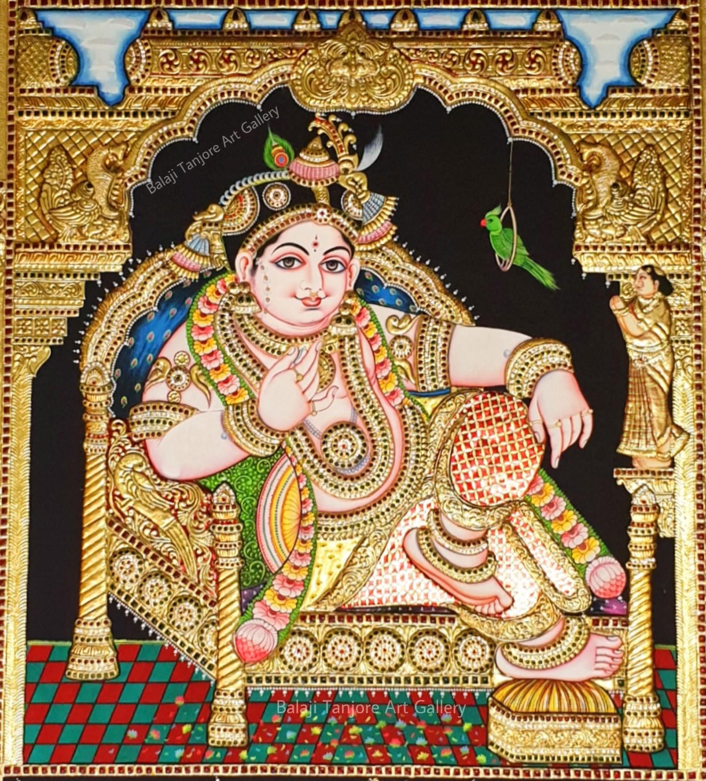 custom 3 gods pooja set