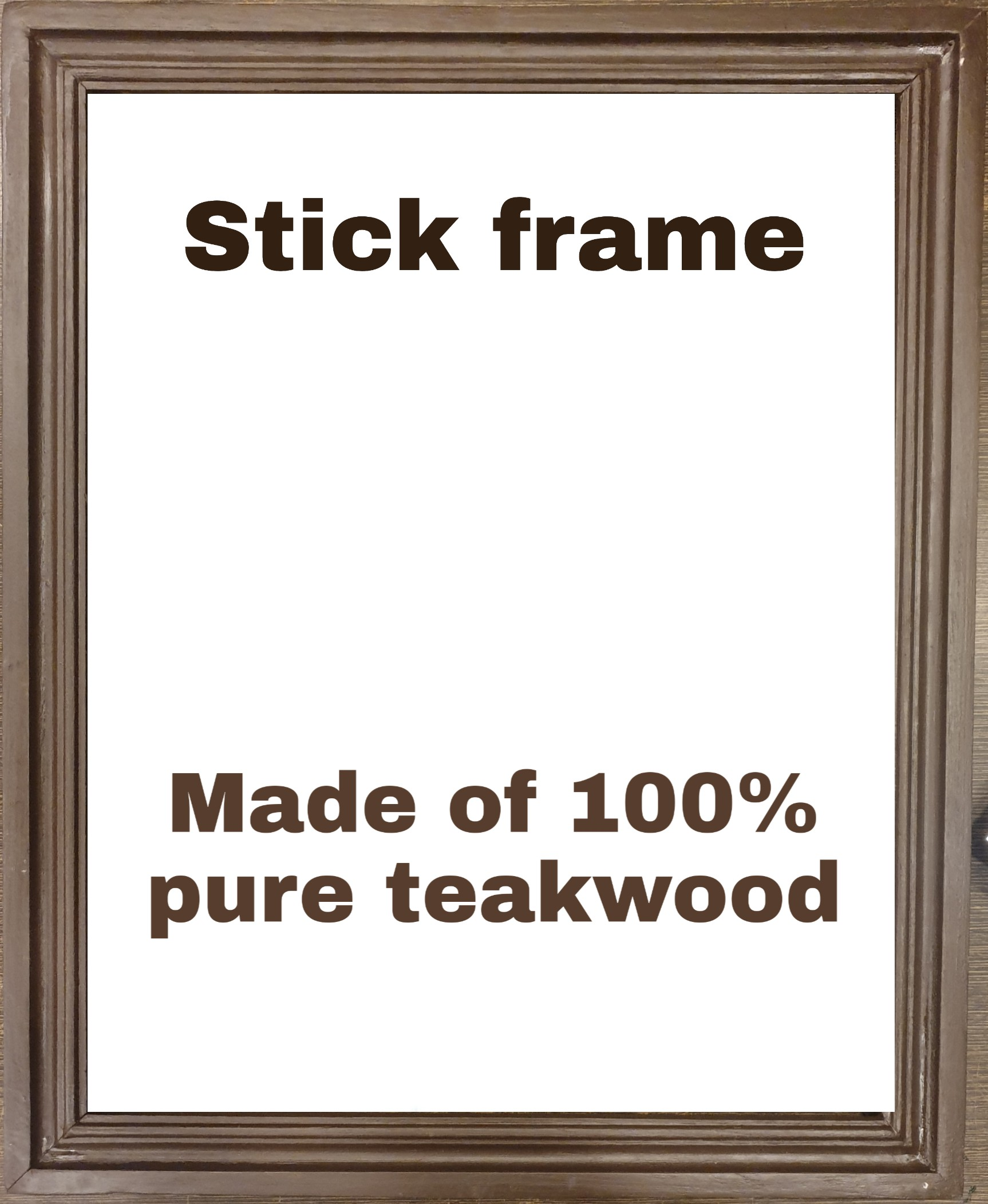 pure teakwood chettinadu frame