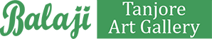 Balaji Tanjore Art Logo